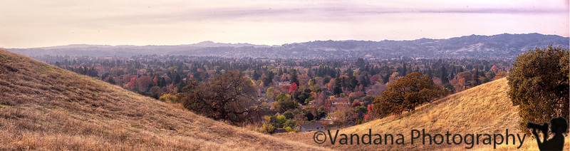 December 8, 2015 - Ygnacio Valley Panorama<br /> <br /> taken at a nice hike in Lime Ridge Open space, Walnut Creek