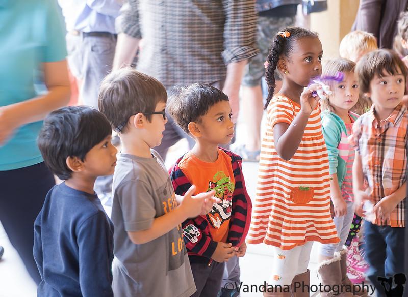 October 27, 2015 - Arjun at Harvest Festival at school