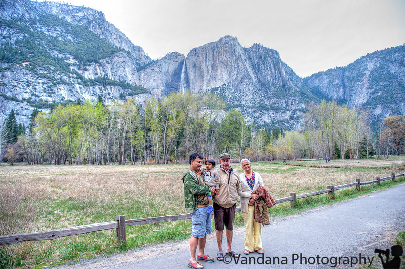 April 13, 2015 - With grandparents at Yosemite