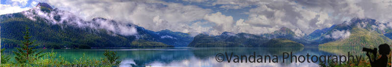 August 17, 2015 - a 5 image panorama of Cordova <br /> such a beautiful place, not on the usual Alaska itinerary, their best kept secret !