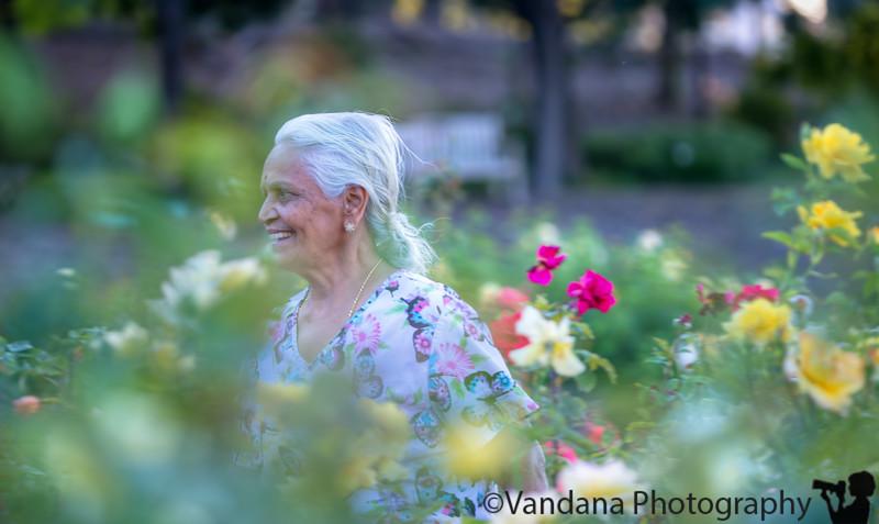 July 10, 2015 - Run, Paati ( grandma), run !<br /> <br /> Arjun making grandma run after him in the gardens