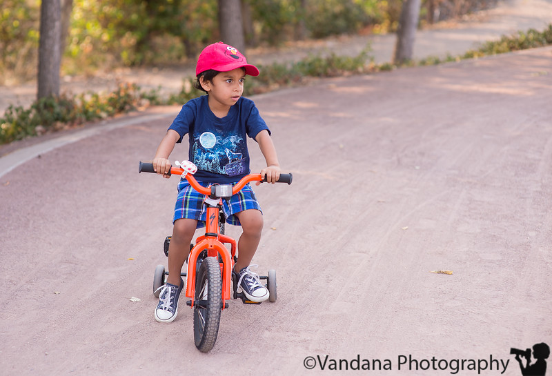 September 27, 2015 - Cycling in the park