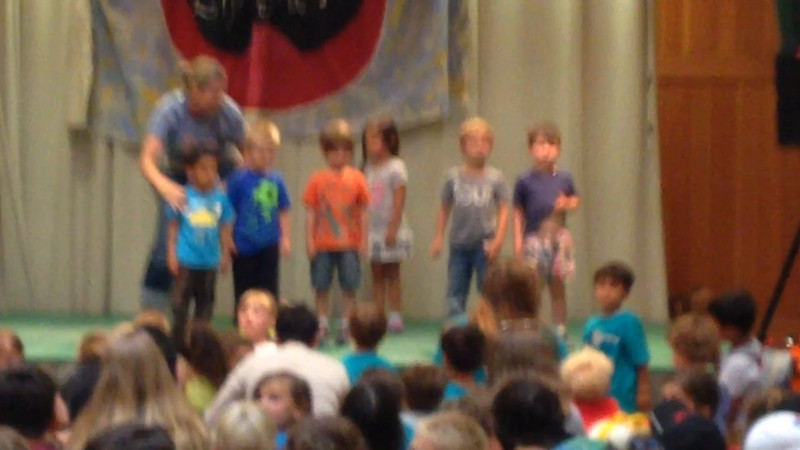 July 12, 2015 - Arjun participates in lip-sync at Adventure Day Camp ! the youngest on stage in the 3-4 yr old group ( The Adventurers).