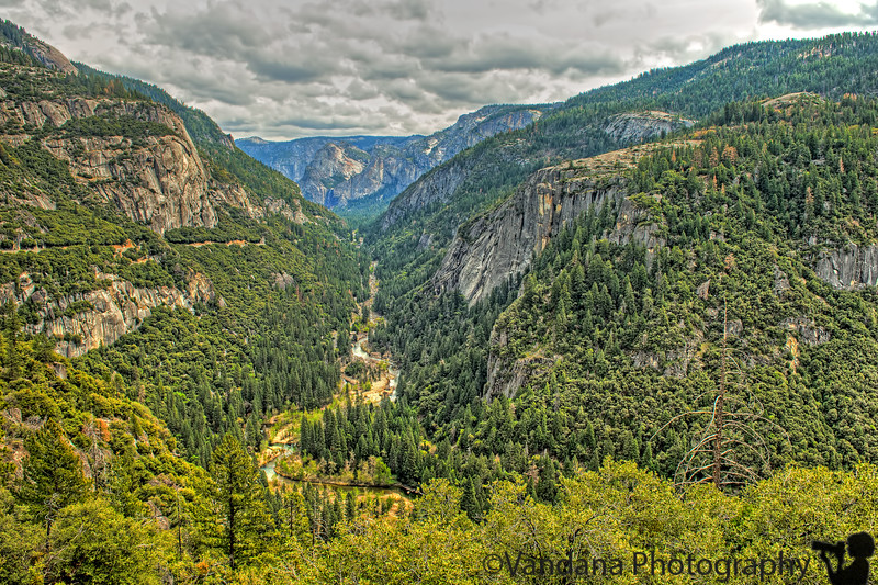 April 9, 2015 - The Merced river and the valley