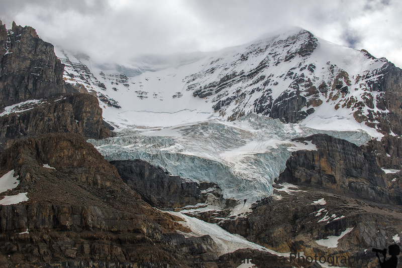 September 21, 2016 - Athabasca glacier, columbia ice fields, canada