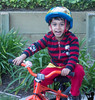March 14, 2016 - Happy, riding the bike after weeks of rain !