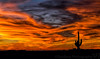 December 24, 2017 - Fire in the sky, an Arizona sunset !