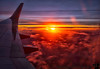 December 22, 2017 - Sunset at 10, 000 feet ! <br /> <br /> such a beautiful sight to watch, on a Southwest flight to Phoenix, AZ