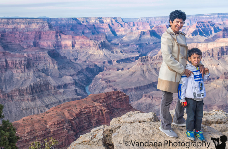 December 26, 2017 - Visit to the Grand Canyon ! <br /> <br /> so immense, and beautiful ! first visit for Arjun, and our visit after almost 10yrs !