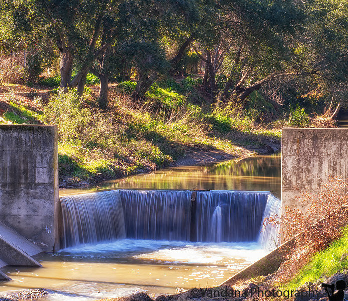 January 12, 2017 - The creek at Iron Horse Trail, Danville
