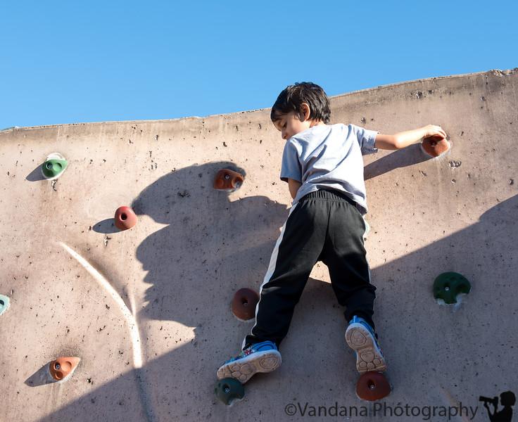 January 19, 2017 - Rock climbing