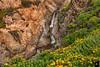 June 1, 2017 - the little waterfall, california coast