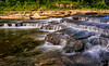 August 22, 2018 - Cataract waterfall creek