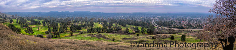 January 18, 2018 - How green is my valley !<br /> <br /> 5 image stitched panorama - view from Lime Ridge