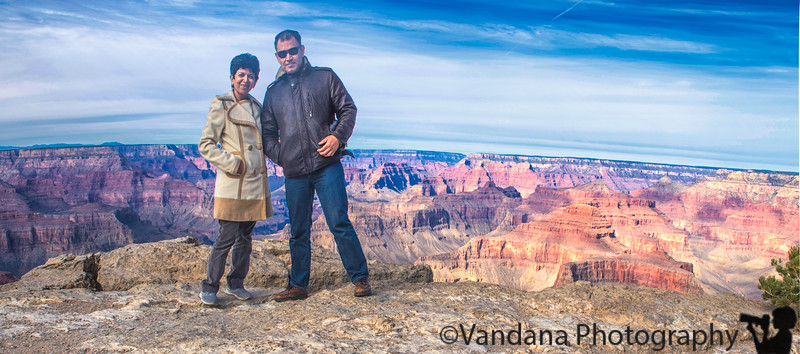 January 4, 2018 - at Grand Canyon, taken by Arjun ! <br /> <br /> so proud of him, amazing how he is able to hold a 7-8 lb D5 camera with 24-70mm lens steady at the age of 5 !