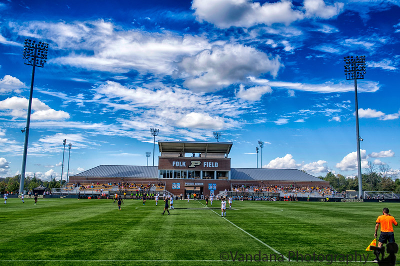 September 23, 2018 - Soccer day at Folk Field<br /> <br /> pic from a few days back, Purdue vs Michigan