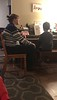 December 16, 2018 - Learning piano with his teacher
