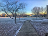 December 17, 2018 - Early am snow, at school