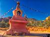January 5, 2018 - the Amitabha Stupa, Sedona