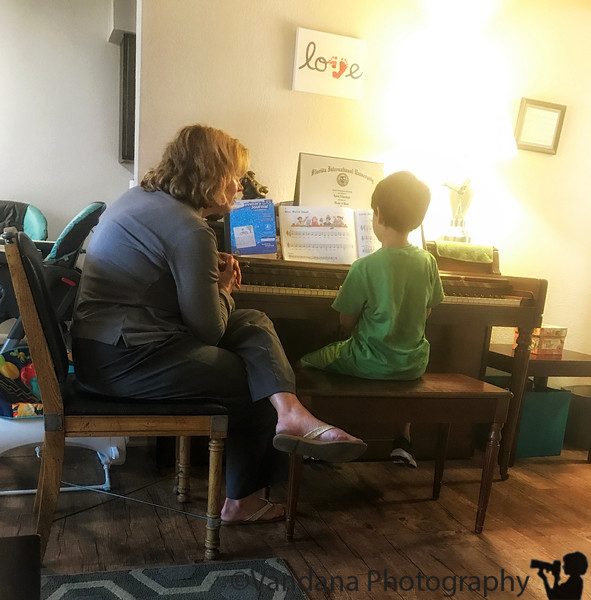 September 28, 2018 - Piano lesson