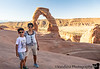 August 24, 2019 - At Delicate Arch with A ! Yay, we made it !