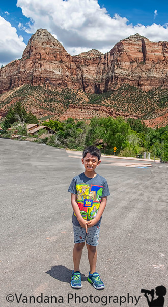 May 31, 2019 - A at Zion National Park, UT