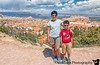 July 17, 2019 - At the Queens Garden trail, Bryce Canyon NP, UT