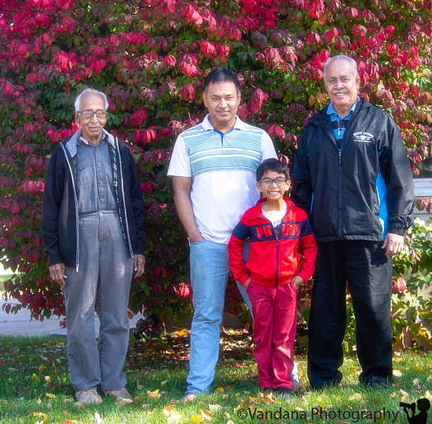 October 16, 2019 - The boys - Krishnan, A and the grandpas