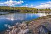 June 16, 2019 - Lake reflections