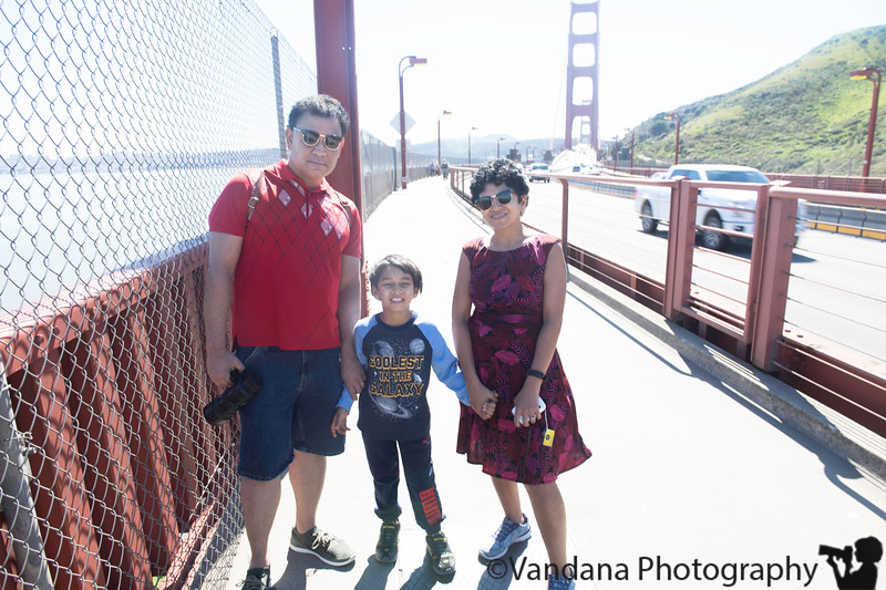 March 2, 2019 - enjoying the lovely warm weather..a walk on the Golden gate bridge