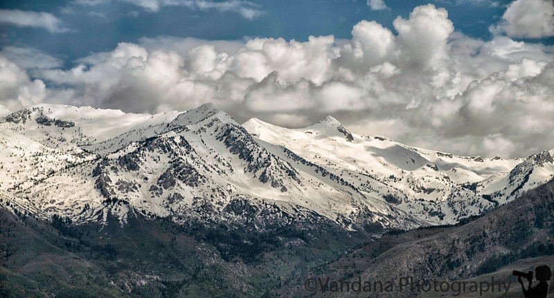 June 4, 2019 - Snow clad mountains at Salt Lake City/Provo <br /> <br /> such a beautiful place ! Have missed the mountains after a year in Indiana !