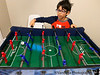 December 10, 2019 - Playing foosball