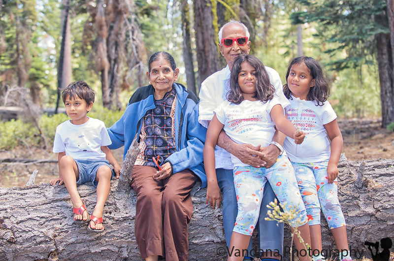 May 26, 2019 - With her grandkids ( before Amey was born) at Yosemite National Park, CA