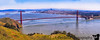 March 30, 2019 - 5 image pano of the Golden Gate Bridge