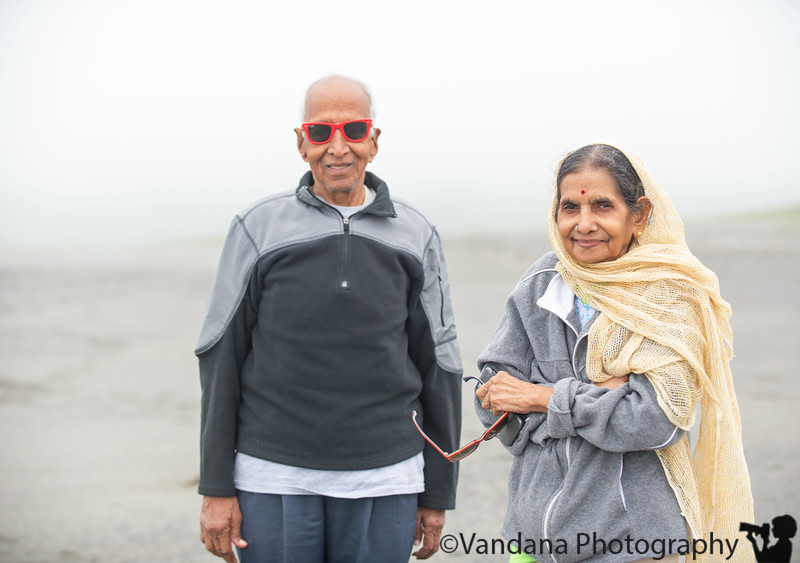 May 22, 2019 - At a foggy NorCal beach