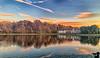 November 16, 2019 - Reflections at sunset, ipone pic