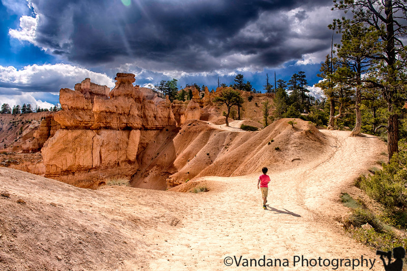August 2, 2019 - Storm clouds over Bryce