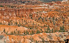 July 15, 2019 - Rim view of the trail, Bryce Canyon National Park, UT