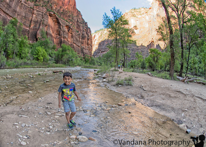 June 6, 2019 - A on the Virgin River, Zion