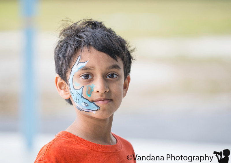 January 3, 2019 - Face-painting