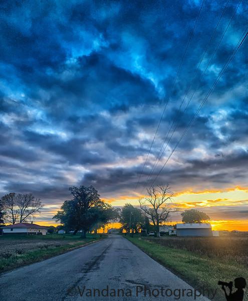 September 22, 2019 - Sunrise near Monticello, IN
