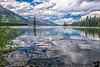 July 19, 2020 - Leigh Lake, Grand Teton National Park<br /> <br /> Hike among many mosquitoes to the lovely Leigh Lake