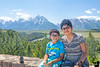 July 26, 2020 - With the Grand Tetons<br /> <br /> then on to Yellowstone
