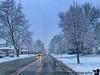 February 18, 2020 - Snow and rain
