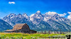 July 24, 2020 - The Moulton Barn, Grand Teton National Park<br /> <br /> Had to take this iconic photo myself !