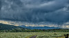 July 18, 2020 - Storm over the mountains