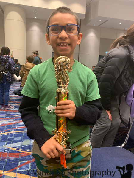 January 24, 2020 - A, happy with his big trophy !