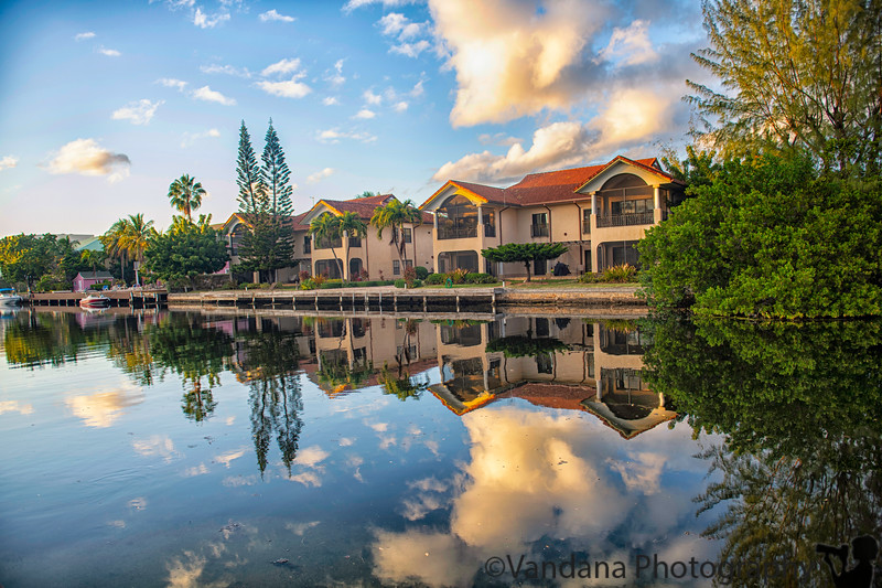 February 4, 2020 - Reflections on the Britannia Canal, Cayman