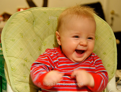 Week #11 My son laughing