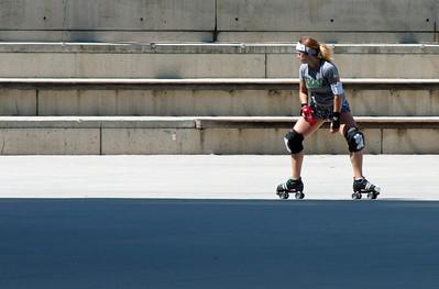 Skater, San Jose City Hall (editing step 2)